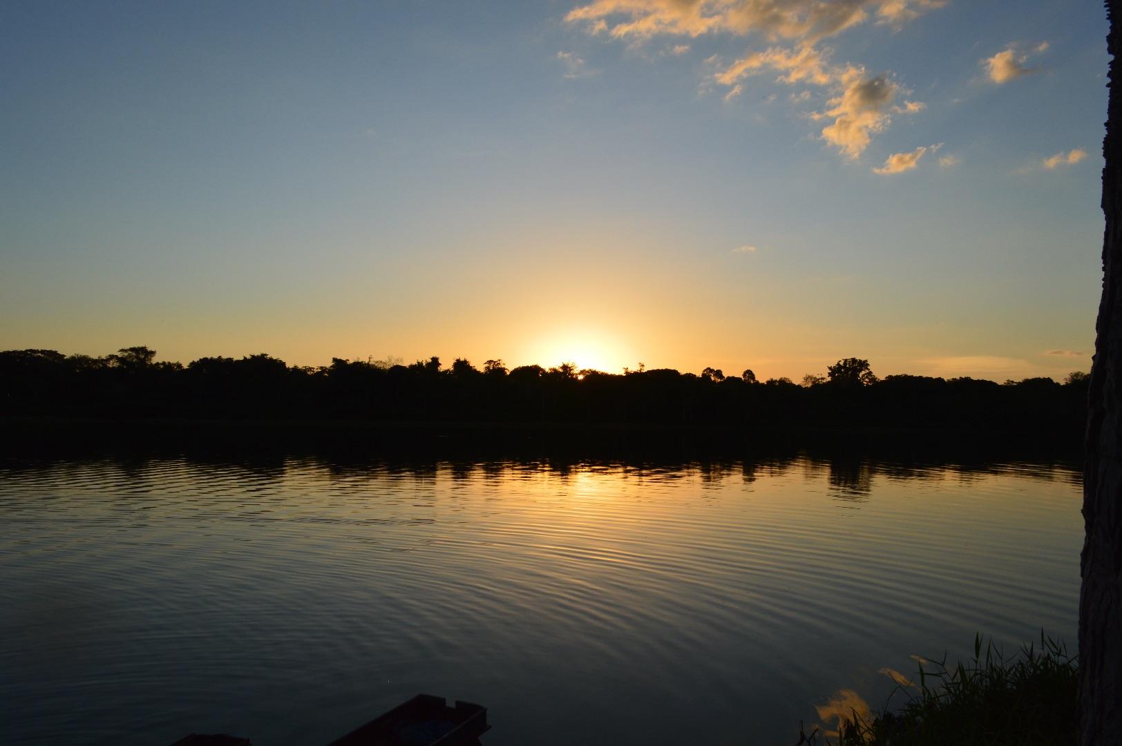 Sunset view in the Brazilian Amazon. Photo: Laura Castro-Diaz