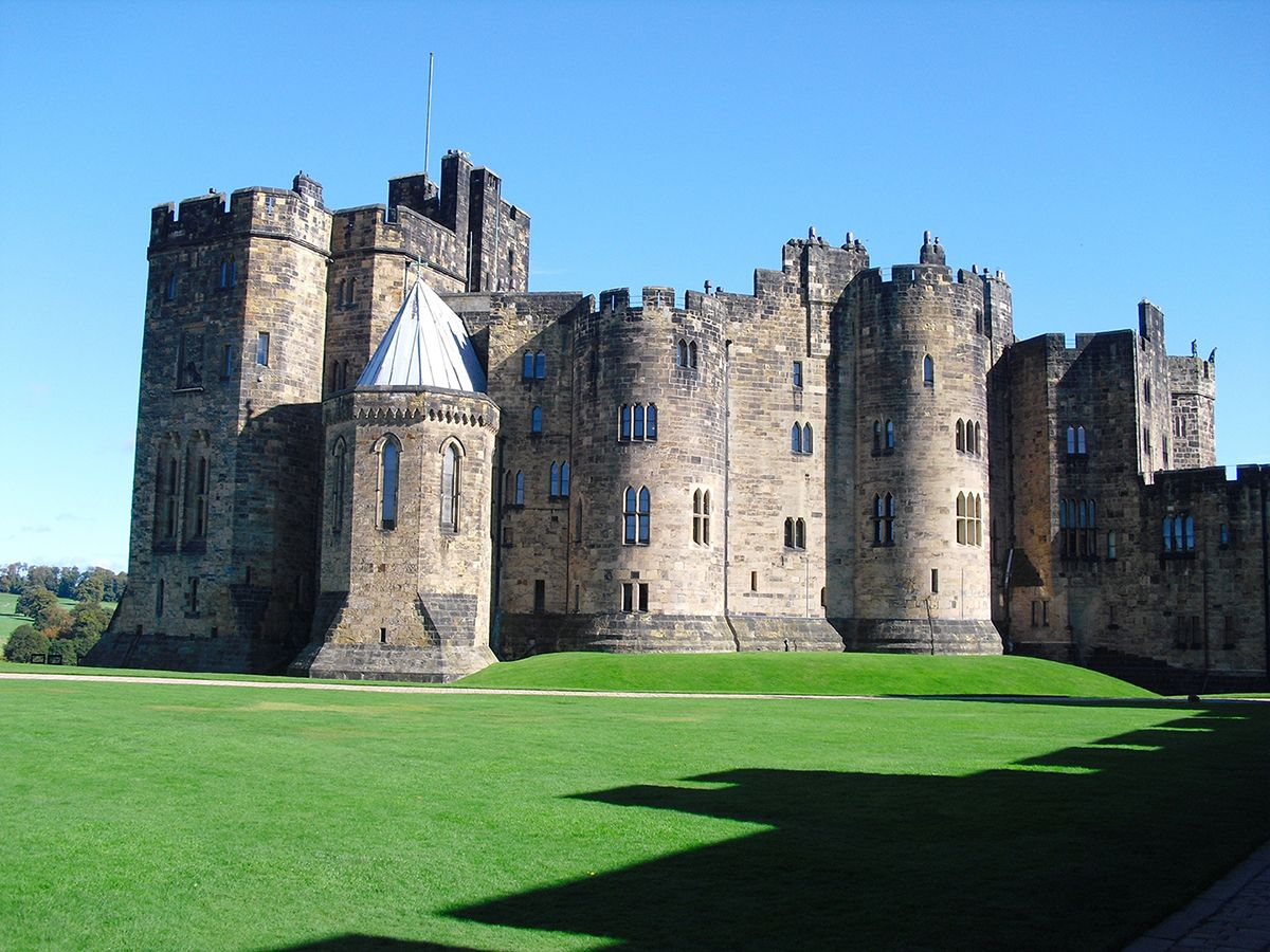 Alnick Castle in Nothern England