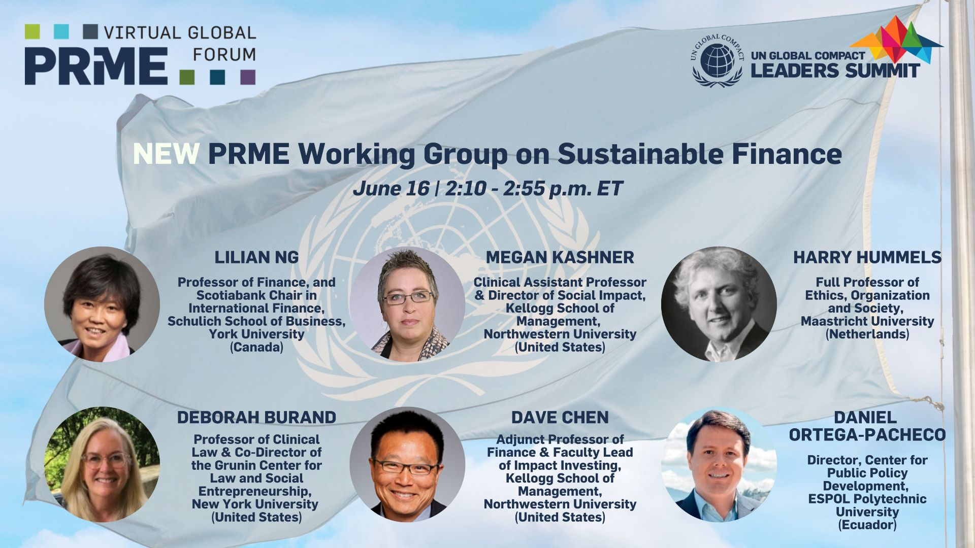Image of UN Global Compact Virtual Leaders Summit session flyer