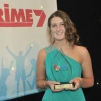 Maddison with The Freemasons NSW & ACT Community Service Award